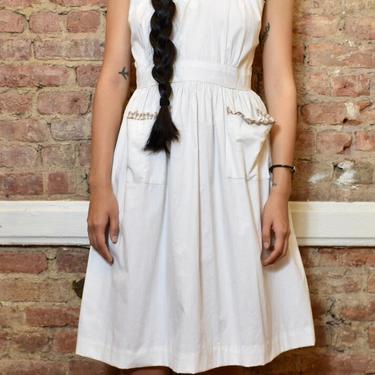 White 1950's Dress
