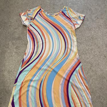Pucci Spandex Swirl Dress