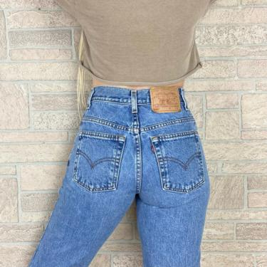 Levi's 550 Vintage Jeans / Size 24 25 by NoteworthyGarments