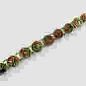 Antique Brass Button Bracelet by LegendaryBeast