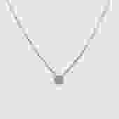 Petite Full Moon Diamond Necklace