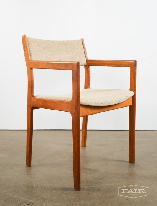 Teak Captain's Chair for Scan
