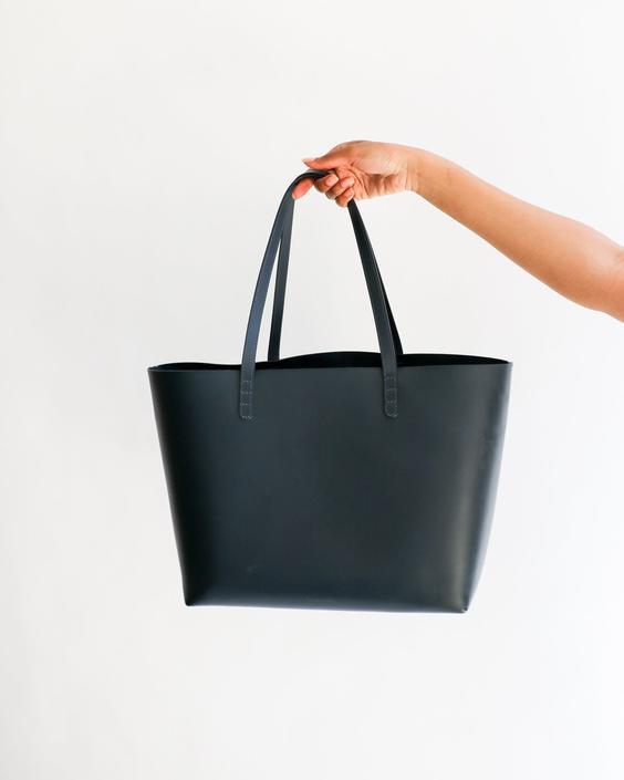 Mansur Gavriel Leather Tote Bag