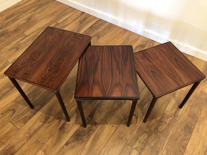 Danish Rosewood Nesting Tables