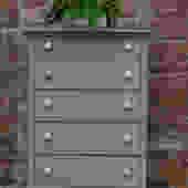 Rustic Gray Dresser