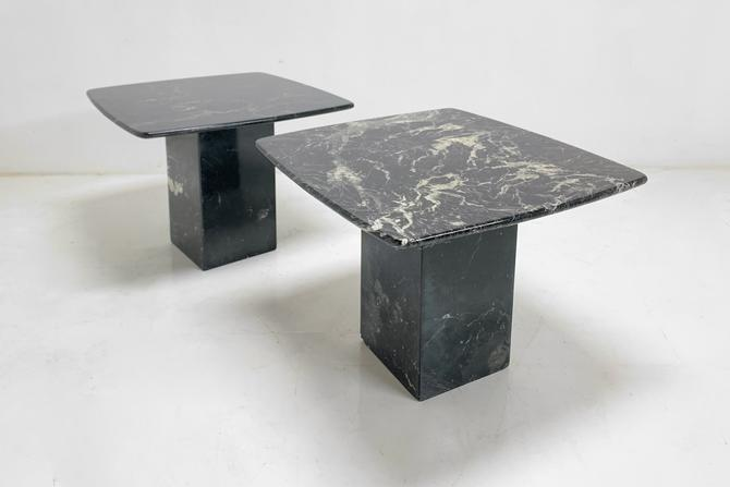Marble Side Table by BetsuStudio