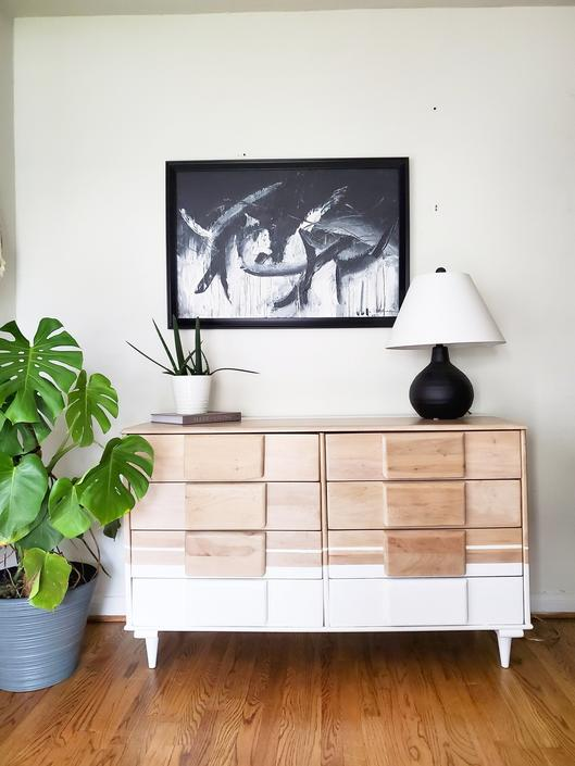 Sold Sold Sold * Mid Century Modern dresser refinished *Shipping not free* by AndreaPalmaiDesign