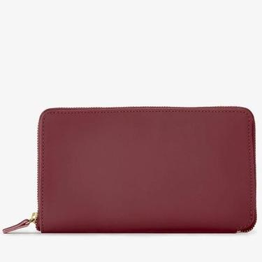 Leather Zip Around Wallet (multiple colors)