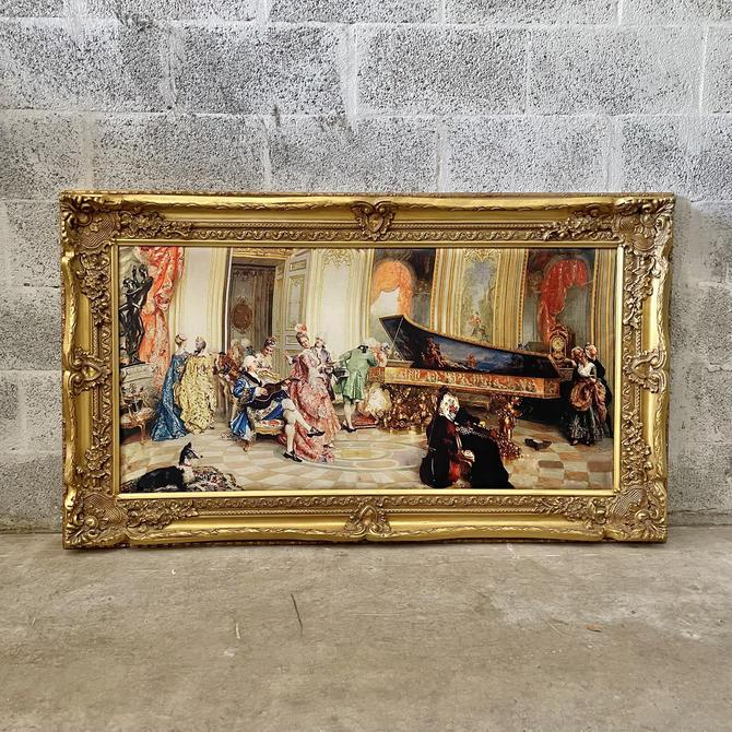 French Mirror French Baroque Mirror Rococo Mirror Antique Mirror 5 Feet Tall Gold Leaf Antique Furniture French Interior Design by SittinPrettyByMyleen