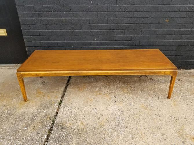 Mid Century Walnut Coffee Table by Lane