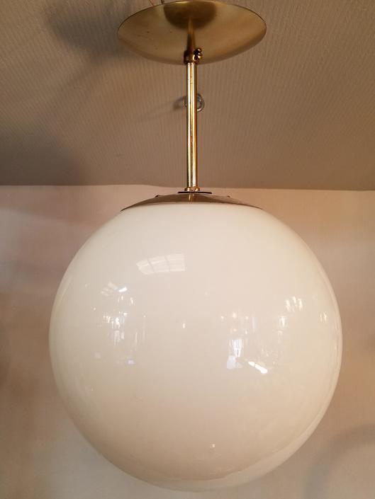 Short Globe Pendant Light