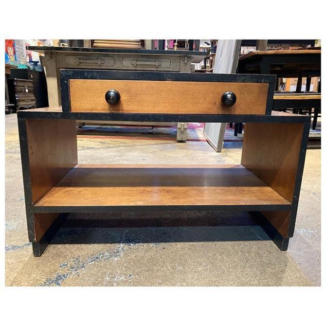 """Adorable Art Deco nightstand / side table 28"""" wide / 17"""" deep / 19"""" height"""