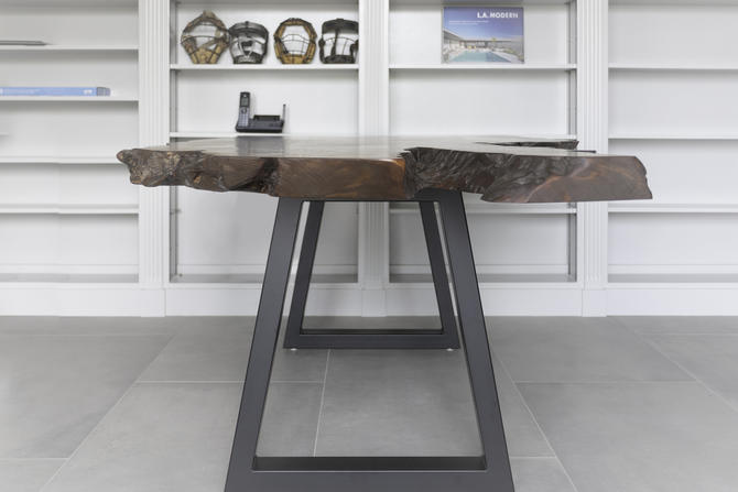 Legacy - Old Growth Redwood Desk by KirkpatrickDesigns