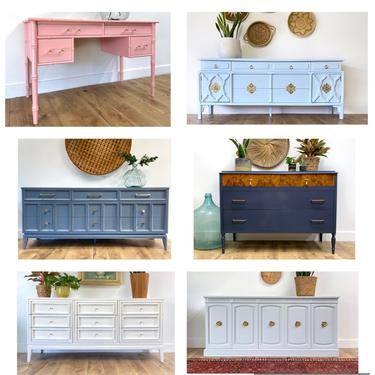 CUSTOMIZABLE FURNITURE - Pick a piece and choose a color! by JulieSimpleRedesign