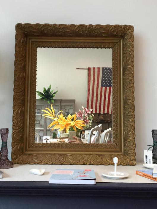 Ornate Gold Mirror by StylishPatina