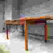 Midcentury Danish Teak Extension/ Draw Leaf Table