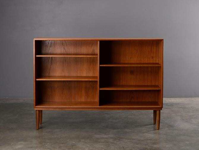 4.5ft Teak Bookcase Mid Century Danish Modern by MadsenModern