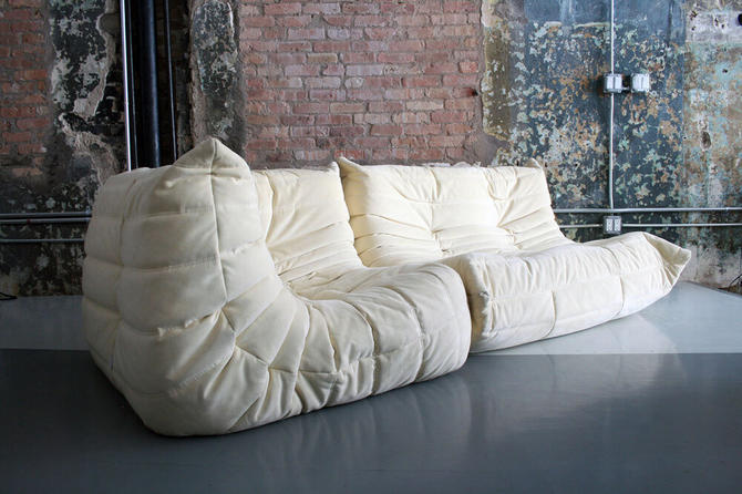 Original TOGO Sofa Sectional by Michael Ducaroy For Ligne Roset France