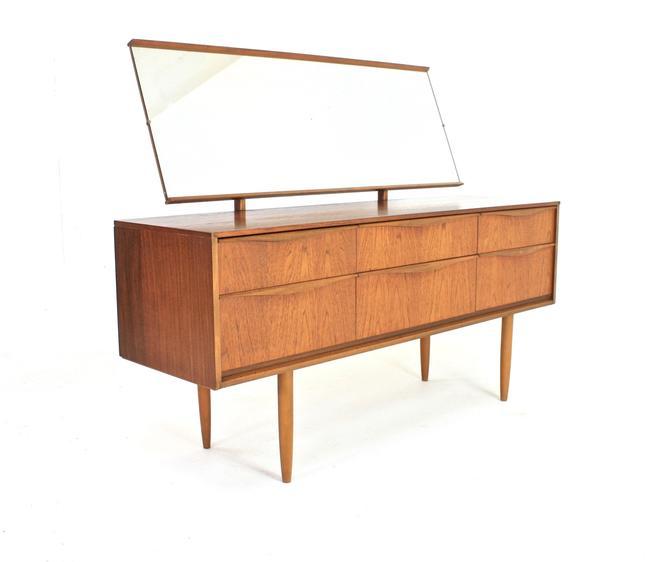 Mid Century Vanity/Dresser by Austinsiute by SputnikFurnitureLLC