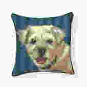 Pooch Décor: Border Terrier Pillow