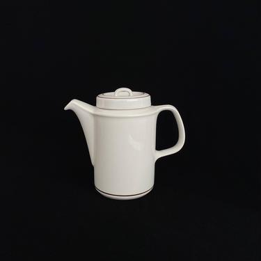 Vintage Mid Century Modern Arabia of Finland FENNICA Coffee Pot w Lid Scandinavian Finnish Classic Design Ulla Procope 1960s Teapot by SwankyChaperooo