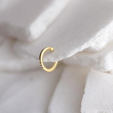 Gold Vermeil Delicate Ear Cuff