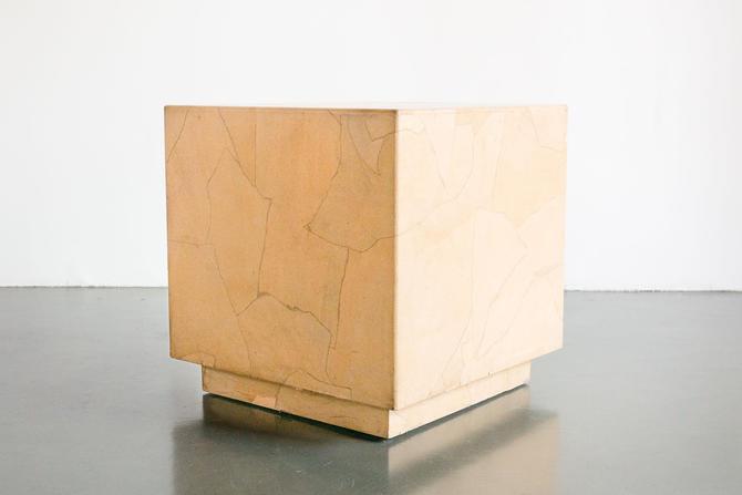 Henredon Cube Side Table by HomesteadSeattle