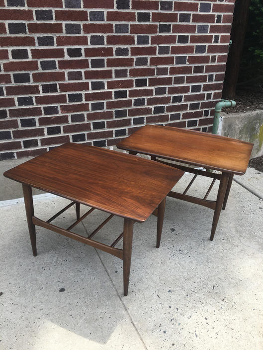 Pair of Lane End Tables Mid Century Modern by bcdrygoods
