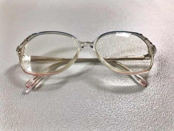 Vintage 70s Oversized Pastel Glasses by SpeakVintageDC