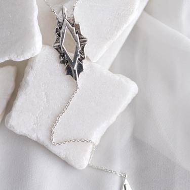 Sterling Silver Astra Necklace