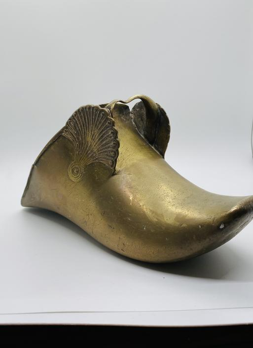 Pair of Heavy Brass Shoes