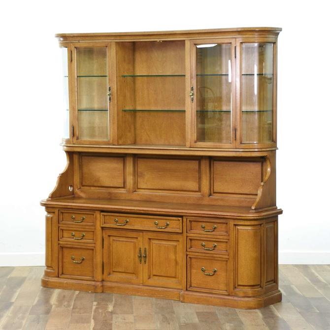 Customcraft American Traditional China Hutch