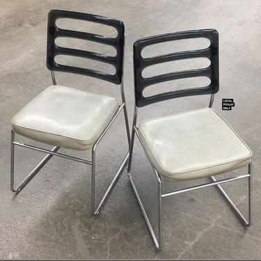 LOCAL PICKUP ONLY ———— Vintage Chromcraft Dining Chairs by RetrospectVintage215