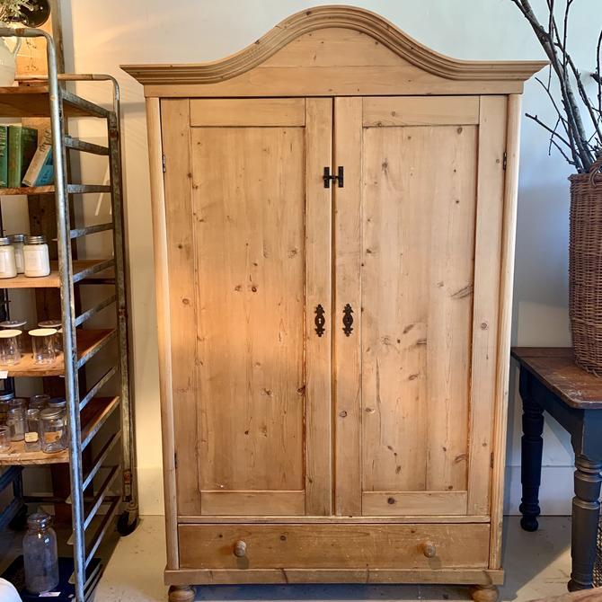 Vintage Pine Armoire