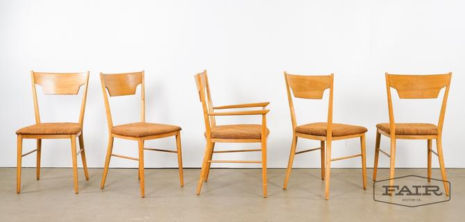Five Paul McCobb Perimeter Group Dining Chairs