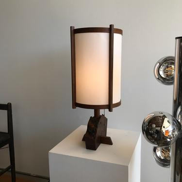 Hand-Crafted Table Lamp
