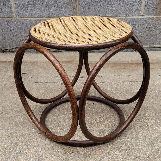Thonet Bentwood Footstool or Side Table