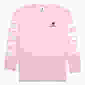 Radio Club Athens L/S Tee (Vegas Pink)