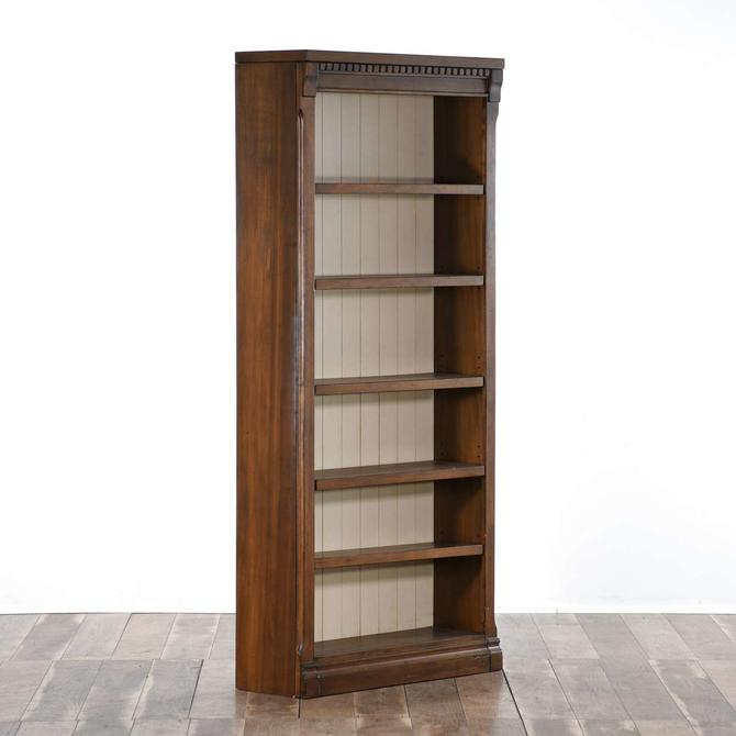 Contemporary American Traditional Tall Bookcase