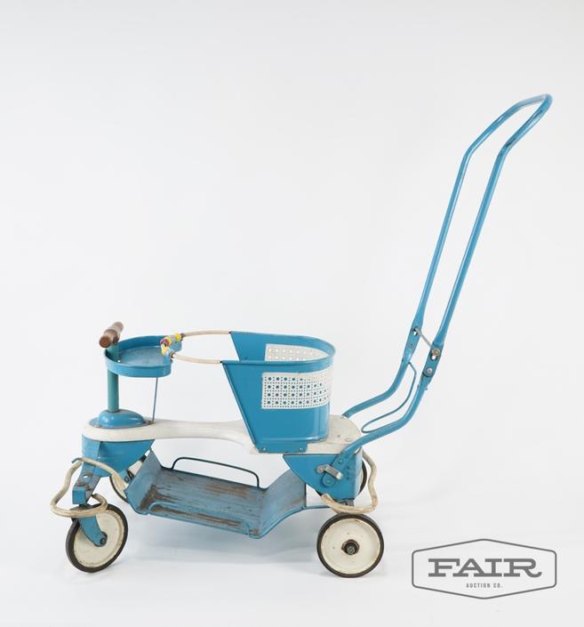 Genuine Taylor Tot Metal Toy Car Stroller