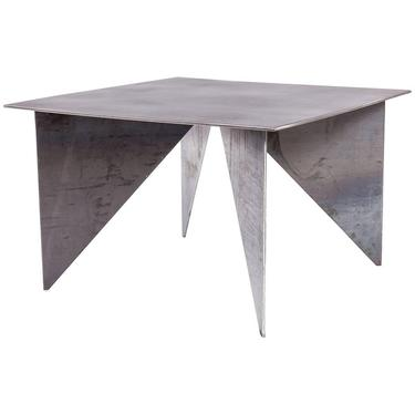 Artist Made Architectural Steel Table by Robert Koch, USA 2018