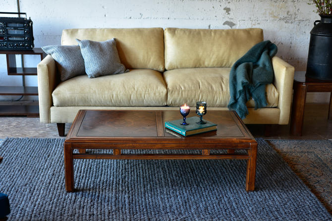 Vintage 1970's Coffee table with two end tables