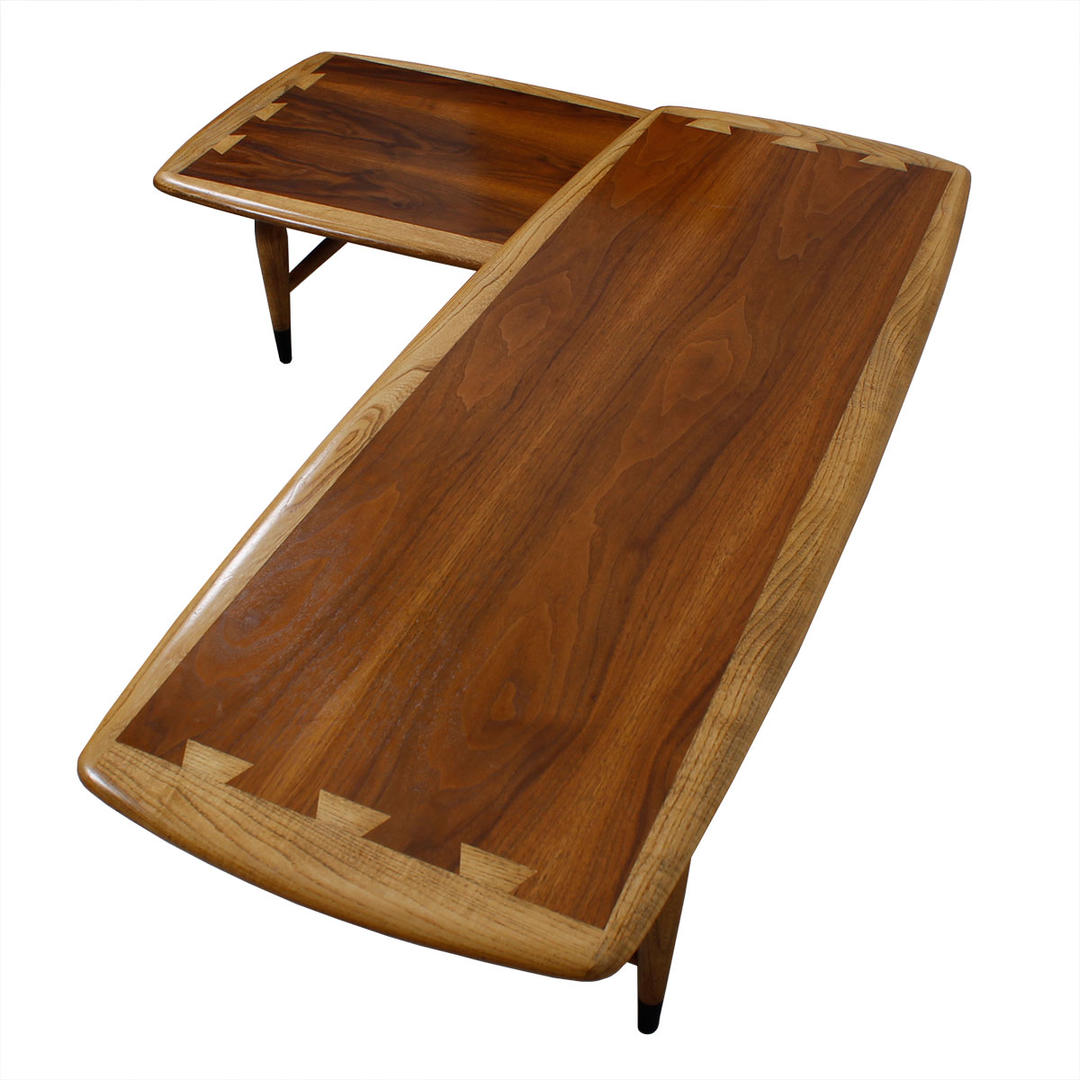 Rare Lane Acclaim Expanding Boomerang Coffee Table From