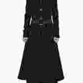 Brass Long Broadcloth Jacket