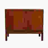 Small Danish Modern Teak Cabinet w/Brass Latch