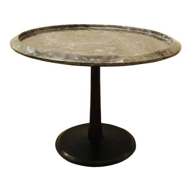 Arteriors Modern Marble Webber Accent Table