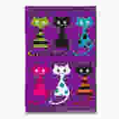 Isle of Cats Tea Towel