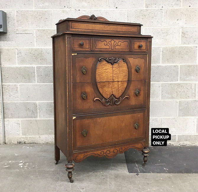 LOCAL PICKUP ONLY ———— Antique Bureau by RetrospectVintage215
