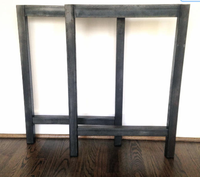 Set of Metal DESK FRAME Legs - Made to Order - Ships FAST! by arcandtimber