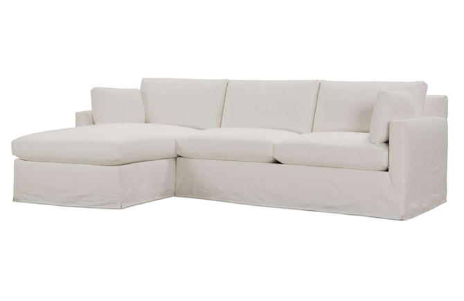 Sylvie Slipcover Sectional by MegMadeInc